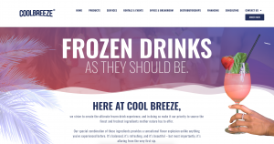 From Slush & Frozen Mixes to Providing Equipment to Servicing All Year Long…We Are Cool Breeze!